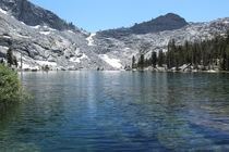 Eagle Lake near Mineral King CA in Sequoia National Park