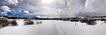 Earlier this year cross country ski trail near Fraser CO
