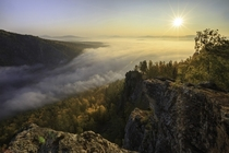 Early autumn in Ural mountains Russia