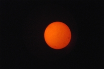 Early Images I took of the Sun