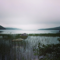 Early Morning at Eagle Lake Acadia National Park
