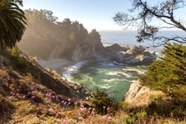 Early Morning at McWay Falls in Big Sur CA