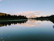 Early morning at Oxbow Bend WY
