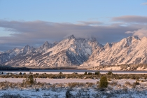 Early morning at Willow Flats in the Tetons - X