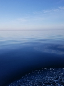 Early morning calm  gulf of Mexico off the Clearwater coast
