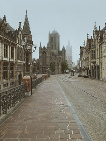 Early morning in Ghent