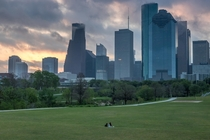 Early Morning in Houston