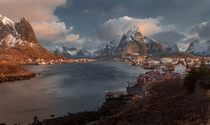 Early morning in Reine Norway