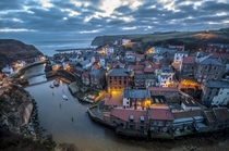 Early morning in Staithes UK