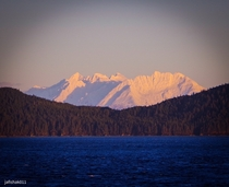 Early morning light on Mt Lions Head South East AK