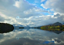 Early morning on Derwent Water Lake District