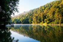 Early morning on the Kentucky River