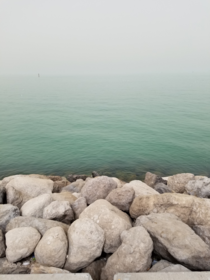 Early morning picture of Kuwait Bay from Sharq Kuwait