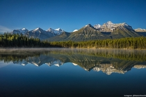 Early Morning Reflections Banff National Park Alberta