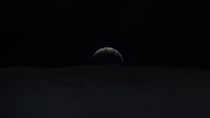 Earth beyond the Moons horizon as seen by the Apollo  astronauts from lunar orbit  years ago