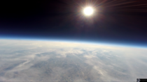 Earth from Stratosphere