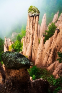 Earth Pyramids of South Tyrol northern Italy   IG mpxmark
