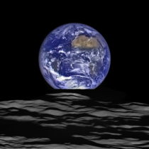 Earth seen from the Lunar Reconnaissance Orbiter