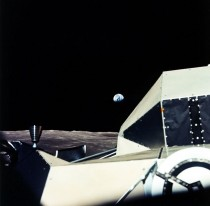 Earthrise Beyond the LM