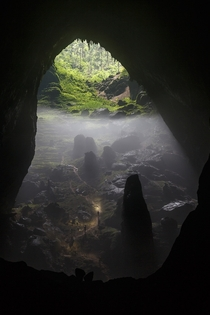 Earths Alien World Hang Son Doong Cave Vietnam First discovered in  Photo by Chris Miller