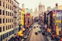 East Broadway Chinatown Manhattan - By Vivienne Gucwa