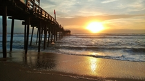 East Coast Sunrise Avon Fishing Pier Outer Banks