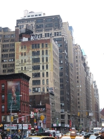 Eastern Border of Hells Kitchen New York City -