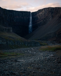 Eastern Iceland where the waterfall to human ratio gets even higher