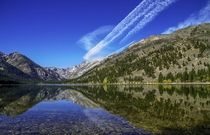 Eastern Sierras CA - Twin Lakes Upper Lake