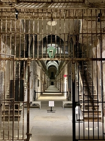 Eastern State Penitentiary over the weekend Chills