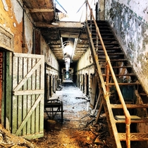 Eastern State Penitentiary Philadelphia An abandoned cell block