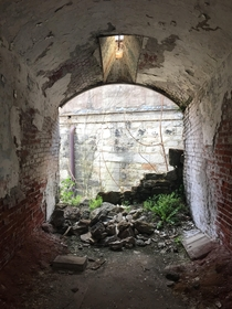 Eastern State Penitentiary- Upon completion it was the largest and most expensive public structure in the US