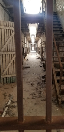 Eastern State Penitentiary - You can go in for tours but several areas are left untouched and unrestored