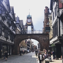 Eastgate clock Chester - United Kingdom Second most photographed clock in the UK
