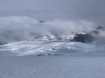 Easton Glacier from the descent of Mount Baker WA