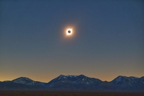Eclipse and The Andes