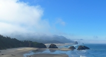 Ecola State Park Oregon in July