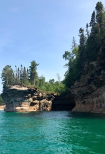 Edges of Earth Pictured Rocks National Lakeshore Michigan