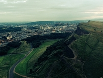 Edinburgh at Dusk from Arthurs Seat