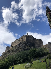 Edinburgh Castle Scotland Inspiration for Hogwarts th Century built by David I Son of Saint Margaret of Scotland