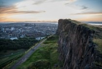 Edinburgh is Built on Volcanoes