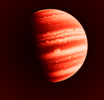 Edited screenshot I took of a gas giant from the simulator Space Engine