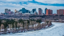 Edmonton Canada - A Winter City