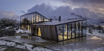 Efjord Retreat Cabin  Stinessen Arkitektur
