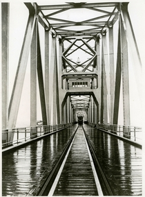Egypt Railways - El Firdan Bridge Suez Canal in the s