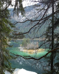 Eibsee in Bavaria Germany by lewulli