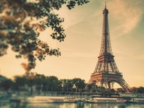 Eiffel Tower Landscape Paris France