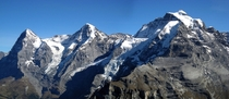 Eiger Mnch and Jungfrau Switzerland  by Jackph