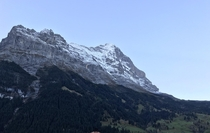 Eigers iconic north face Grindelwald Switzerland