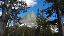 El Capitan Peak over Alice Lake- First day of summer - Sawtooth Mountains Idaho - Origional Contributor